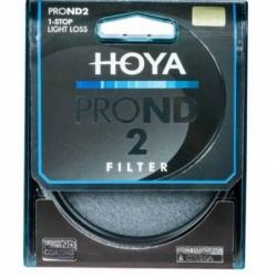 Filtr szary Hoya PRO ND2 62mm
