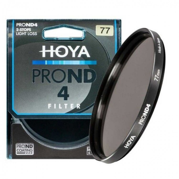 Hoya Pro neutral density ND4 62mm filter