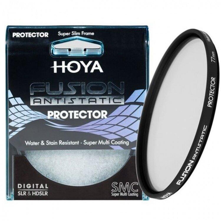 HOYA FUSION ANTISTATIC Protector filter 58mm